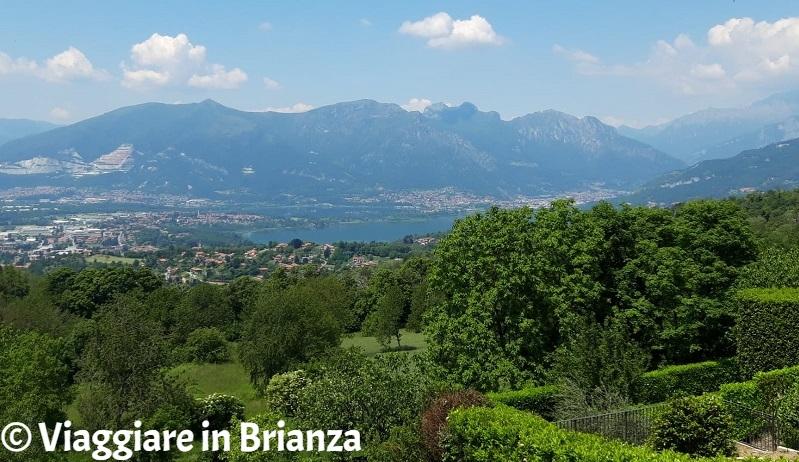 Brianza, vista panoramica