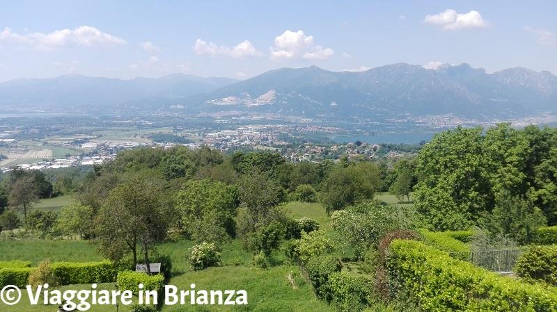 Cosa fare a Colle Brianza, il panorama da Ravellino
