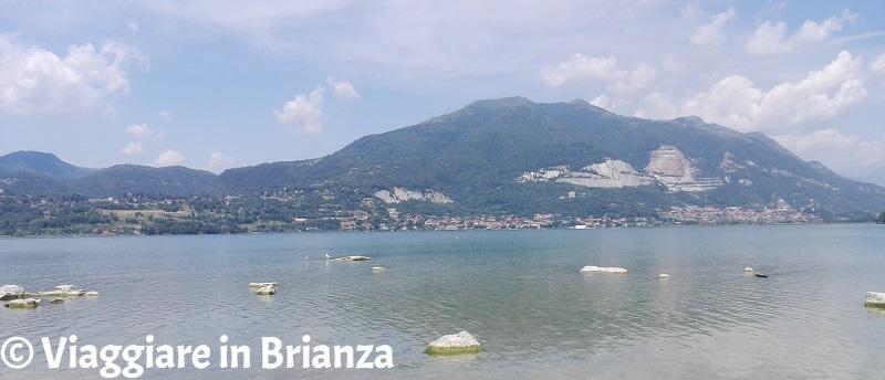 Laghi balneabili in Brianza, Punta del Corno a Rogeno