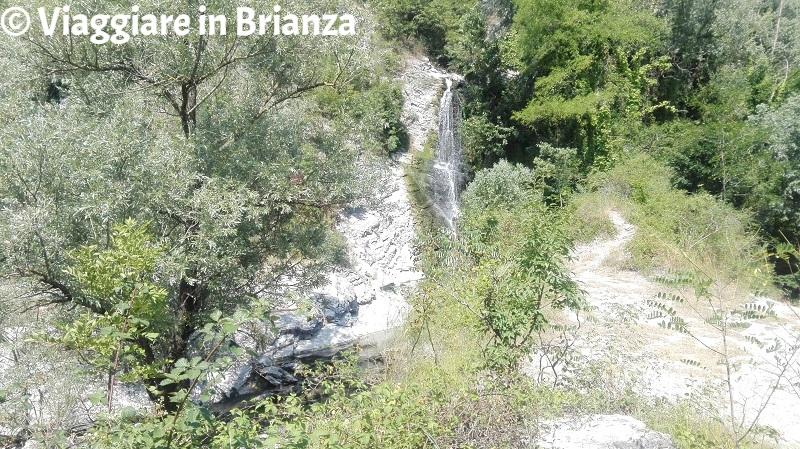 Oasi di Baggero, la cascata