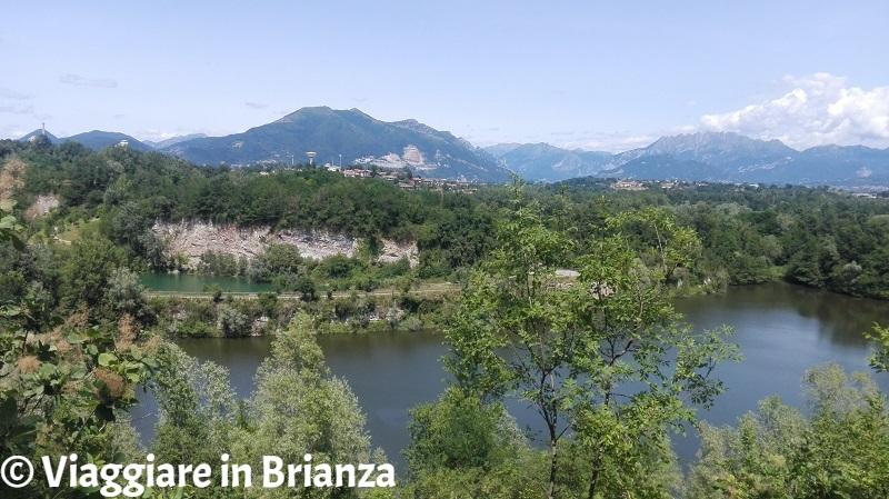 L'oasi di Baggero e le montagne della Brianza