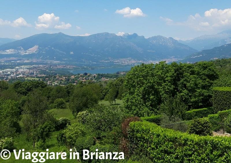 Posti da vedere in Brianza, il panorama di Ravellinol