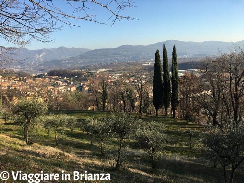 Cesana Brianza, il Parco Roccolo