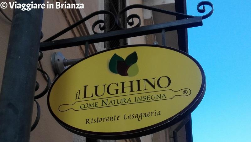 Ristoranti vegetariani in Brianza, il Lughino di Seregno