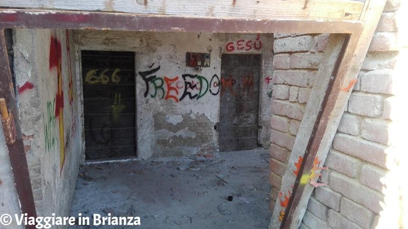 I resti di Cascina Belvedere