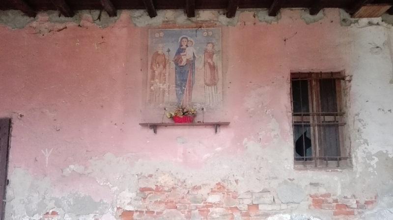 Cascina Mordina, la Madonna con Bambino