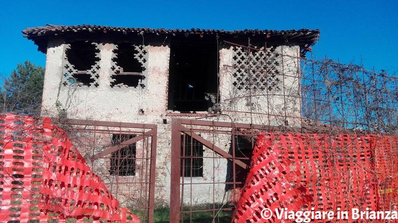 L'ingresso di Cascina Belvedere a Mariano Comense