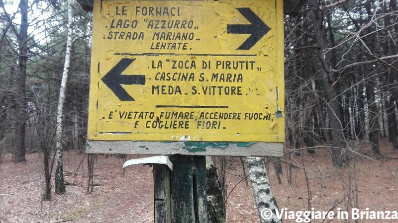 Parco della Brughiera Briantea, la strada Mariano-Lentate