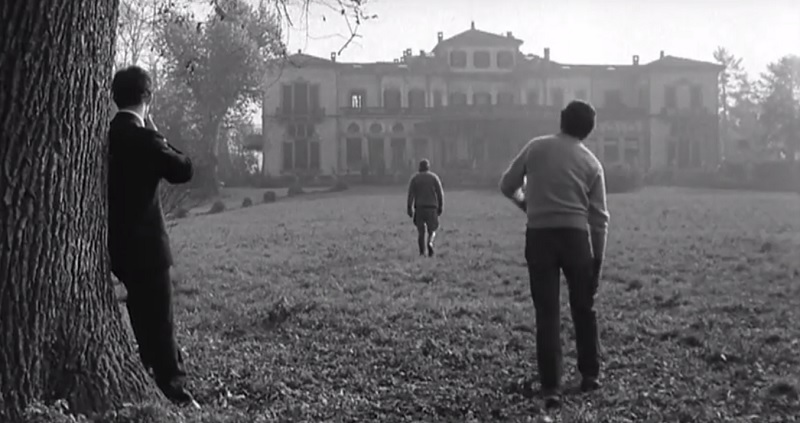 Film girati ad Arcore, Il disordine in Villa Borromeo D'Adda