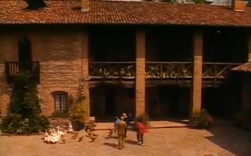 Film girati a Vimercate, il Casino di Caccia Borromeo in Cascina Vianello