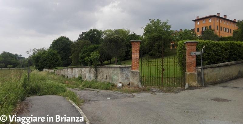 Cascina Colombera sul sentiero 6 del Parco della Brughiera Briantea