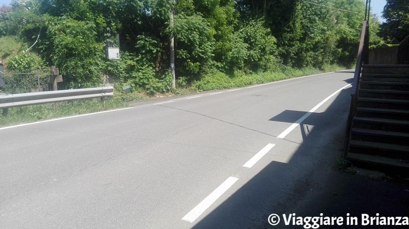 Via Sant'Agostino a Mariano Comense, il sentiero 7 del Parco della Brughiera Briantea