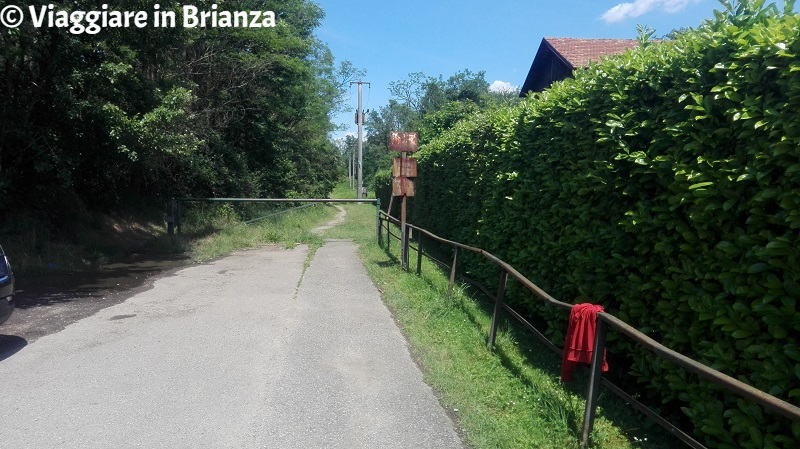 Zoca dei Pirutit, il sentiero sbarrato