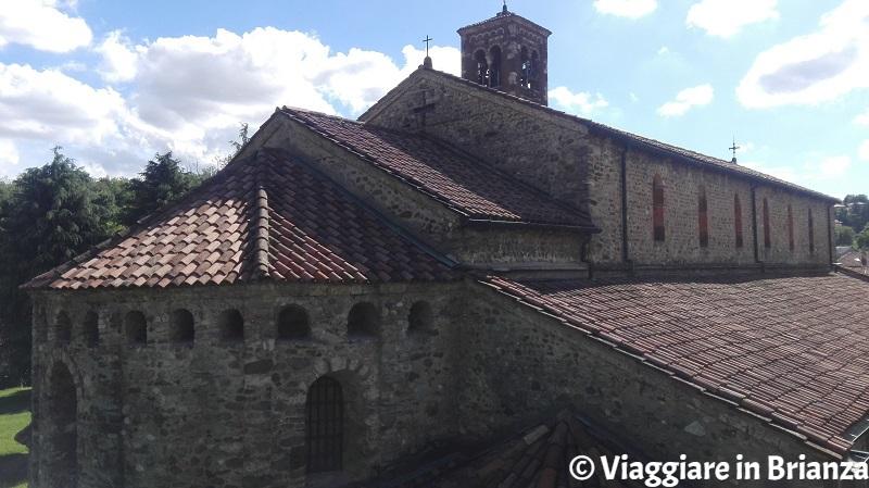 Agliate, la Basilica