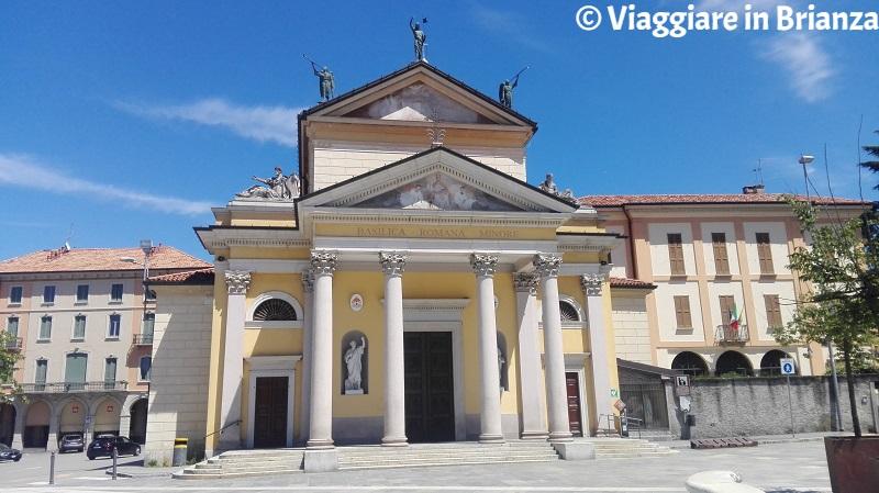 Besana in Brianza, la Basilica dei Santi Pietro Marcellino ed Erasmo