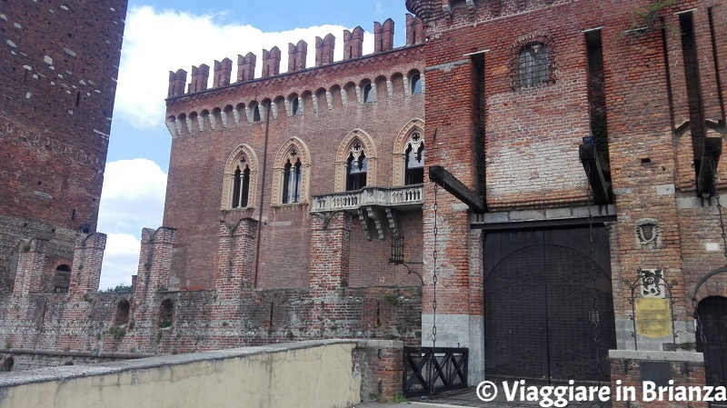 Il Castello di Carimate, l'ingresso