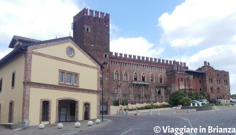 Castello di Carimate, vista panoramica