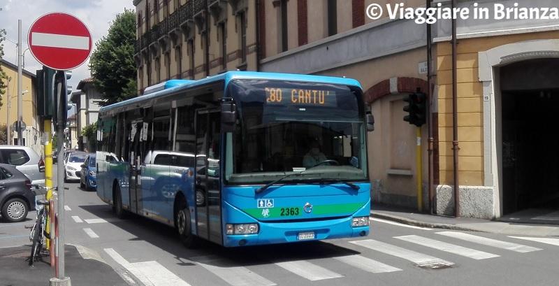 Come arrivare a Cantù in autobus