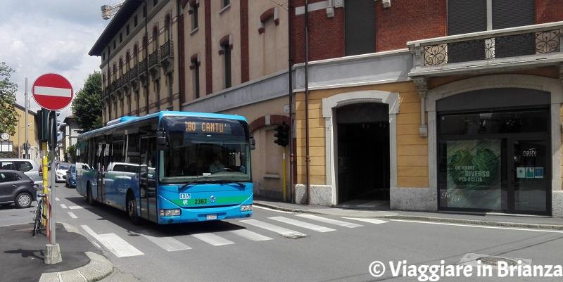 Come arrivare a Seregno in autobus