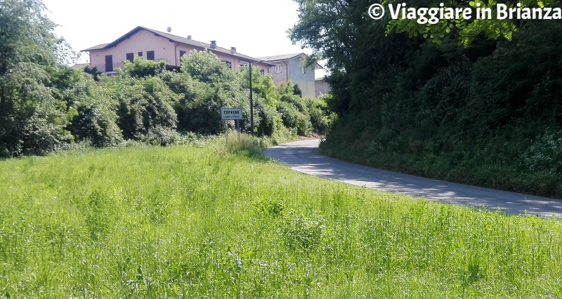 Copreno, il sentiero 1 del Parco della Brughiera