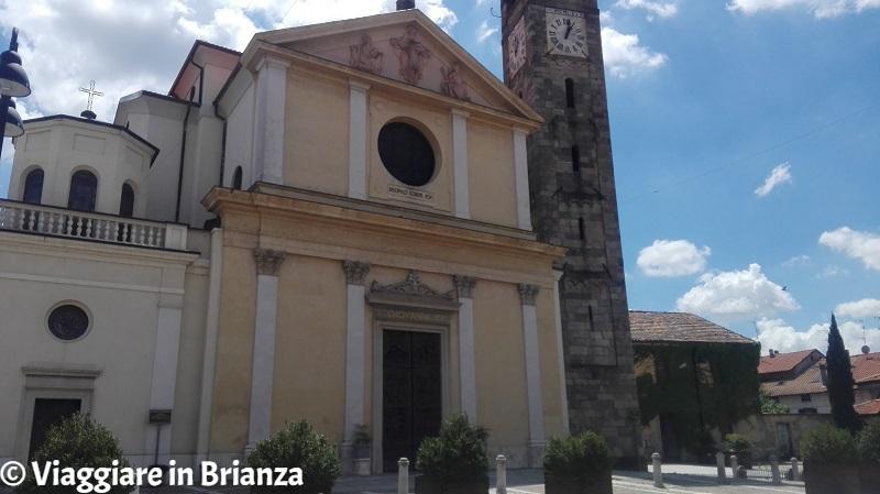 Cosa fare ad Albiate, la Chiesa di San Giovanni Evangelista