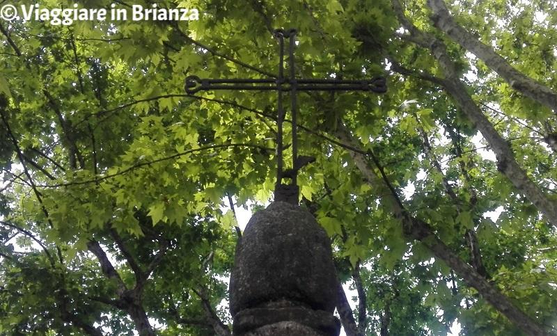 Cosa fare ad Albiate, la croce in ferro del lazzaretto