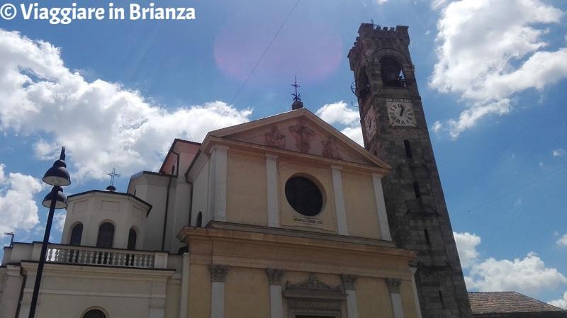 Cosa fare ad Albiate, la torre campanaria della Chiesa di San Giovanni Evangelista