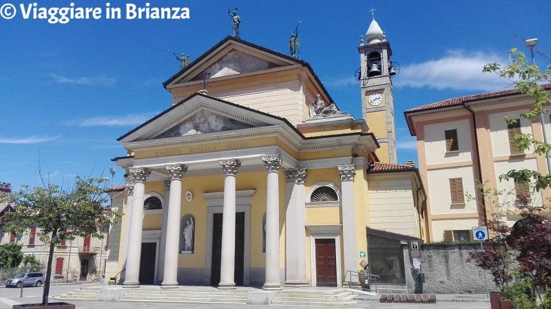 Cosa fare a Besana in Brianza, la Basilica dei Santi Pietro, Marcellino ed Erasmo