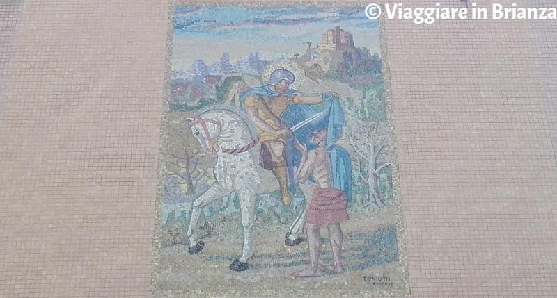 Cosa fare a Bovisio Masciago, il mosaico di San Martino