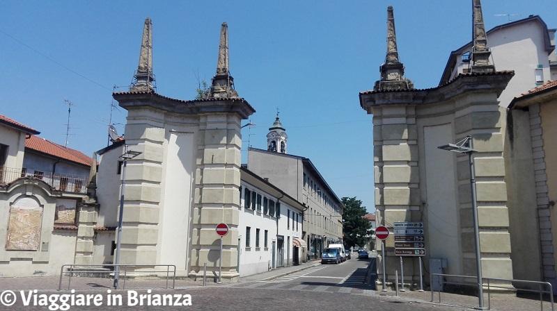 Cosa fare a Cesano Maderno, il portale di ingresso