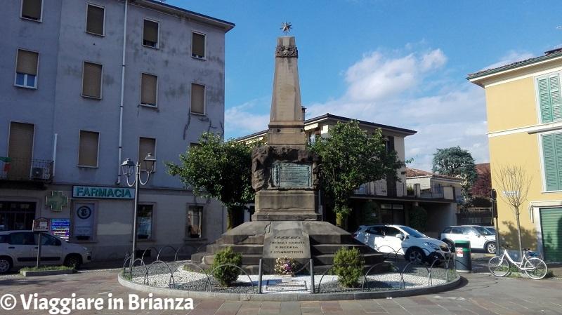 Cosa fare a Oggiono, il Monumento ai Caduti