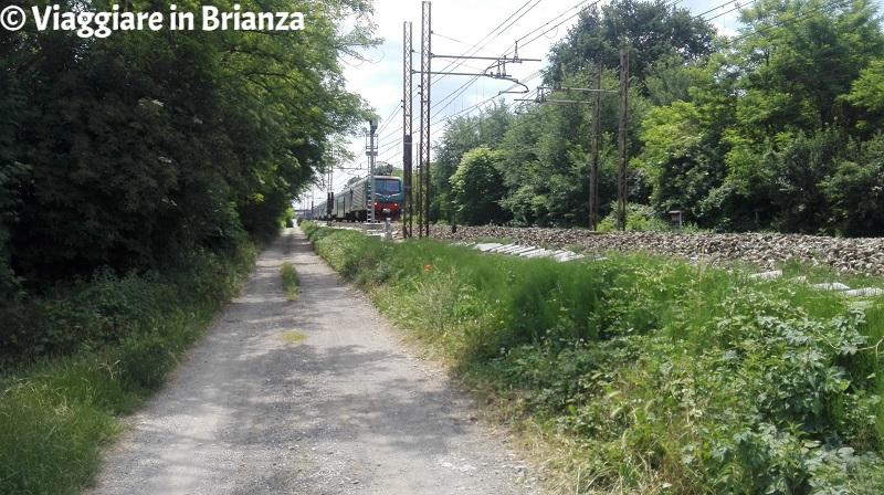 La ferrovia Milano-Chiasso a Lentate