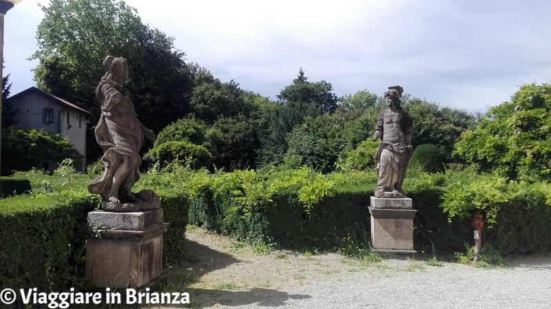 Il giardino di Villa Cusani Confalonieri