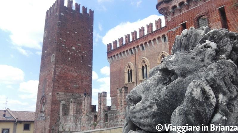 Il leone del Castello di Carimate