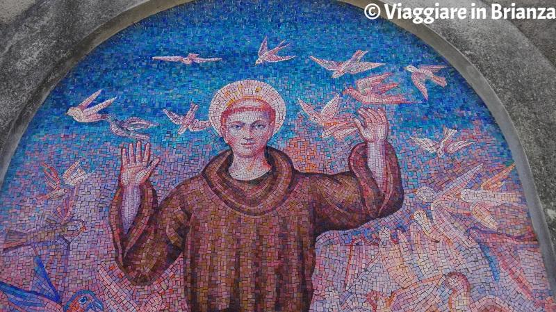 Mosaico della Chiesa di Santa Caterina a Besana in Brianza