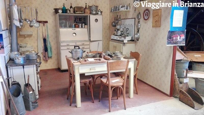 Museo del Novecento di Carugo, la cucina