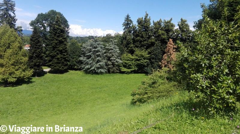 Il parco di Villa Cusani Confalonieri