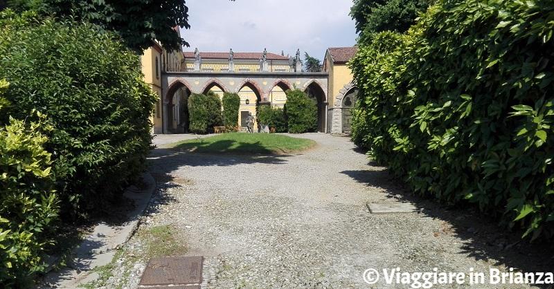 Il portico di Villa Valdettaro a Lentate sul Seveso