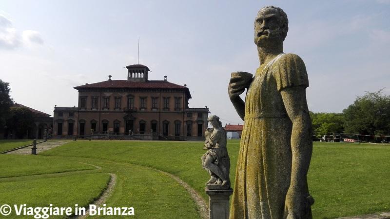 Le statue di Villa Bagatti Valsecchi a Varedo