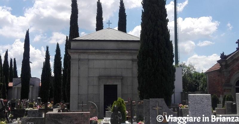 La tomba di Bernardo Caprotti