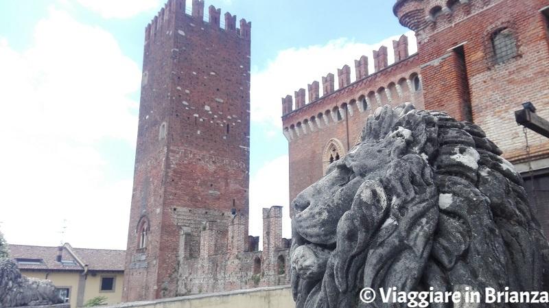 La torre del Castello di Carimate