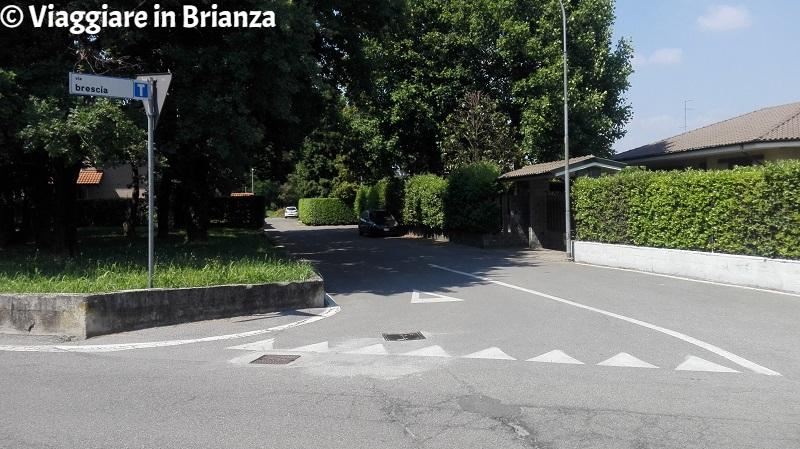 Via Brescia a Lentate sul Seveso