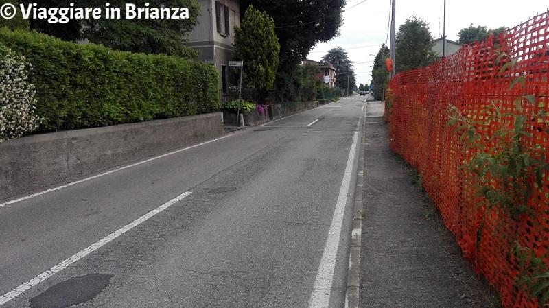 Via San Michele del Carso a Lentate