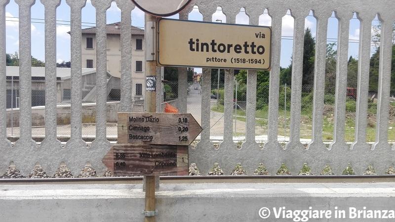 Via Tintoretto a Lentate sul Seveso