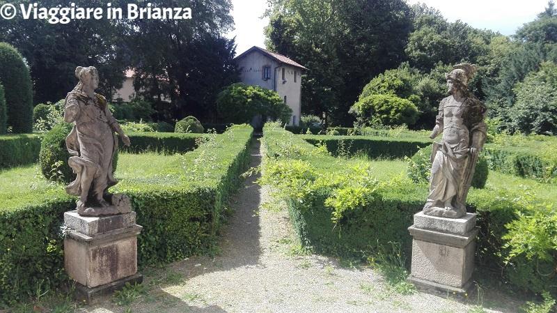 Villa Cusani Confalonieri, il giardino