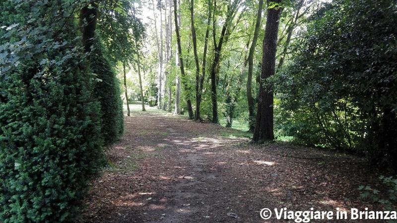 Villa Cusani Confalonieri, il parco
