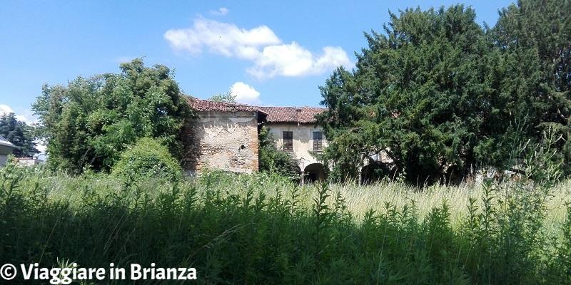 Ville abbandonate in Lombardia: a Giussano, Villa del Dosso di Sopra
