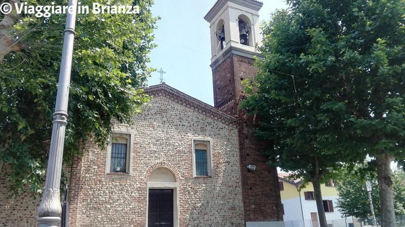 Cogliate, la Chiesa di San Damiano