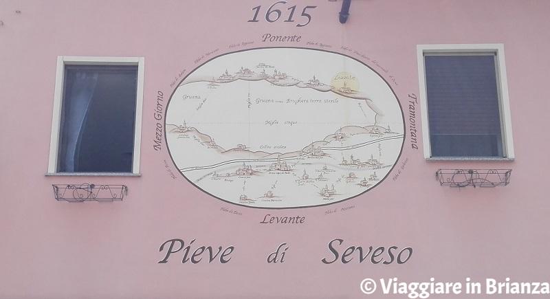 Cosa fare a Lazzate, la mappa della pieve di Seveso