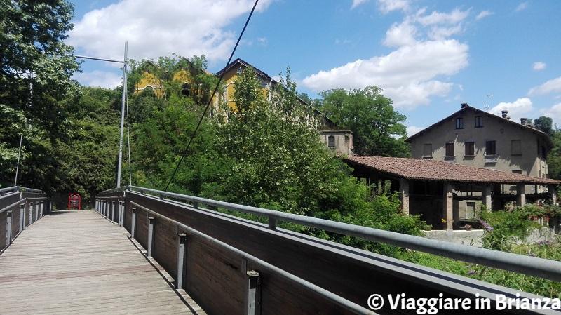 Cosa fare a Sovico, il ponte in legno per Triuggio